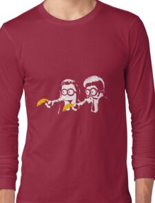 Pulp Fiction - Minion Fiction Long Sleeve T-Shirt