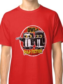 Pulp Fiction - Owls Pulp Fiction Classic T-Shirt
