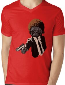 Pulp Fiction - Pugly Mens V-Neck T-Shirt