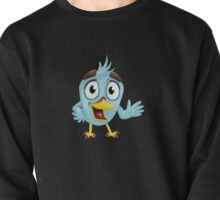 Funny Lovely Vector Graphic Birds For Birds Animal Lovers Pullover