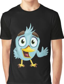 Funny Lovely Vector Graphic Birds For Birds Animal Lovers Graphic T-Shirt