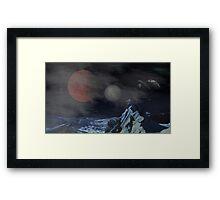 Skyrim - Masser and Secunda Framed Print