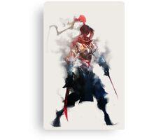 Shadowmist Assassin Canvas Print