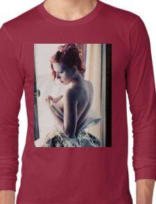 Scarlett Johansson - Film Grain Long Sleeve T-Shirt