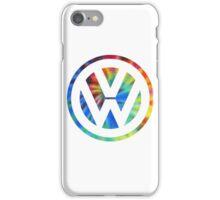 VW Logo Tie Dye iPhone Case/Skin