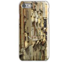 Windows, Balconies & Drainpipes, Valletta  iPhone Case/Skin