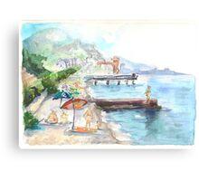 Dagomys Beach Canvas Print