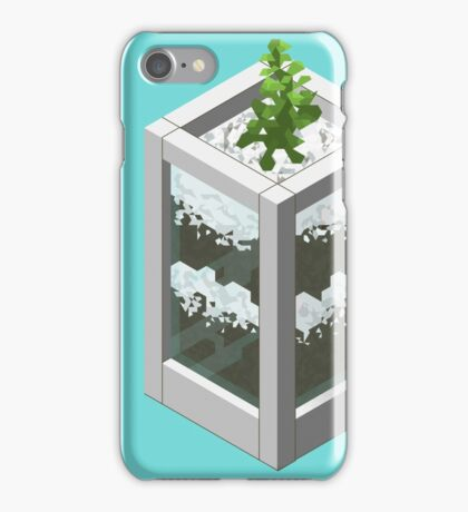 Pixel Succulent  iPhone Case/Skin