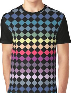 Colourful Diamonds Graphic T-Shirt
