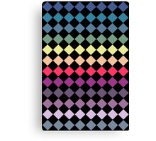 Colourful Diamonds Canvas Print