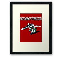 Robotech super Framed Print