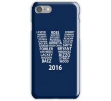 Chicago Cubs -  Fly The W iPhone Case/Skin