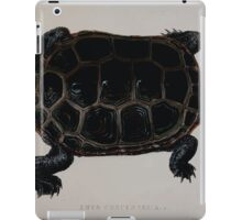 Tortoises terrapins and turtles drawn from life by James de Carle Sowerby and Edward Lear 034 iPad Case/Skin