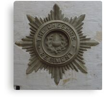 The Cheshire Regiment Canvas Print