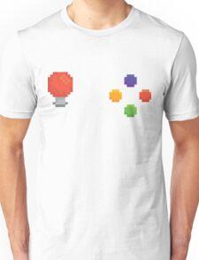 Pixel arcade machine controls Unisex T-Shirt