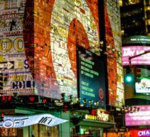 Broadway Lights Sticker