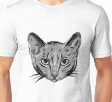 Russian blue cat. Unisex T-Shirt