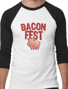 Bacon Fest Men's Baseball ¾ T-Shirt