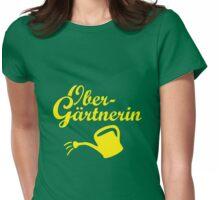 Obergärtnerin Gießkanne Garten Design Womens Fitted T-Shirt