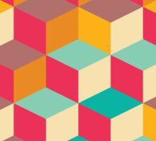 Squares 001 Sticker