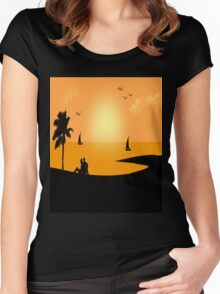 Nature Love Forever Women's Fitted Scoop T-Shirt