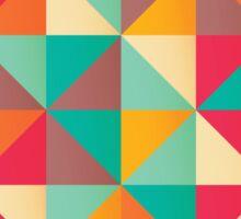 Triangles 001 Sticker