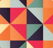 Triangles 002 Sticker