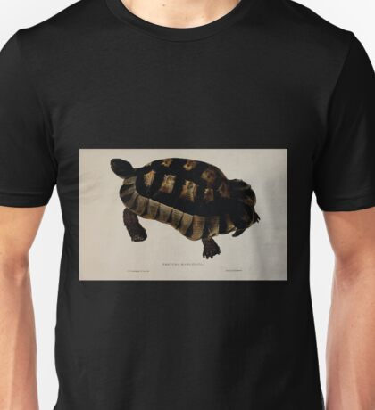 Tortoises terrapins and turtles drawn from life by James de Carle Sowerby and Edward Lear 032 Unisex T-Shirt
