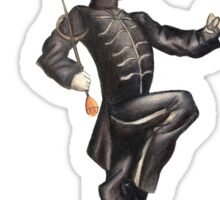 Black Parade Skeleton Sticker