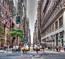 New York Streets by AlexFHiemstra
