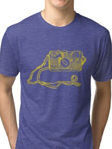 Miranda Yellow Tri-blend T-Shirt
