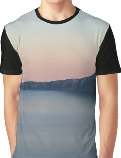 Skyline at Summer Sunset  Graphic T-Shirt