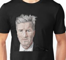 David Lynch Digital Painting Portrait Unisex T-Shirt