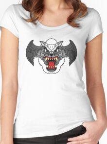Airwolf Logo  Women's Fitted Scoop T-Shirt