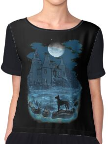 The Hound of the Baskervilles Chiffon Top