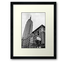 The Empire State Building Framed Print