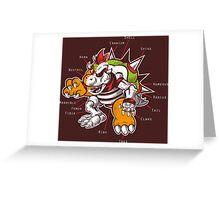 Bowser Inside Greeting Card
