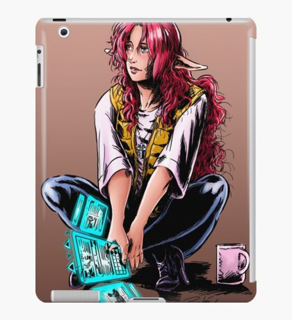 Eowyn construction site color iPad Case/Skin