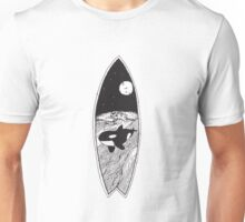 The Killer Whale (Orcinus orca) black and white Unisex T-Shirt