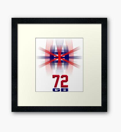 Great Britain 72 Framed Print