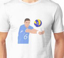 Volleyball Cartoon  Unisex T-Shirt