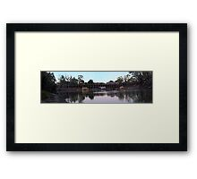 Murray River scapes Framed Print