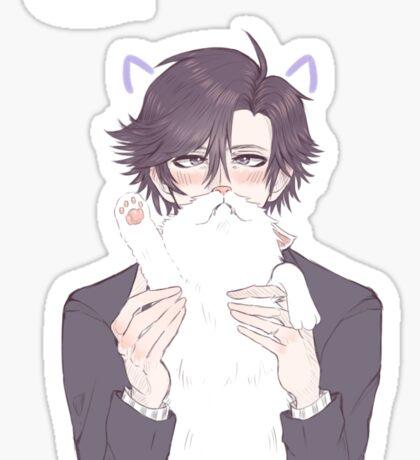 Jumin meow~ Sticker
