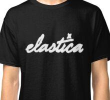 Elastica Logo (In WHITE) Classic T-Shirt