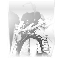 Bass Guitarist Poster