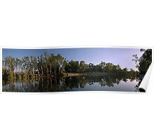 Murray River scapes Poster