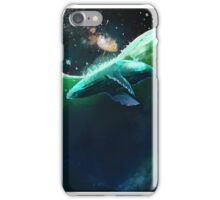 Whale under the stars iPhone Case/Skin