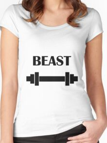BEAST | eRiC |yELLOW Women's Fitted Scoop T-Shirt
