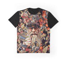 Floral Boston fan Graphic T-Shirt