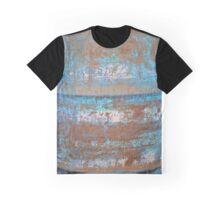 Blue Rust Graphic T-Shirt